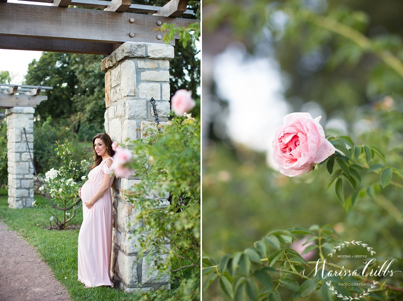Kansas City Maternity Photographer | Loose Park Photo Session | Marissa Cribbs Photography | KC Photographer_1143.jpg