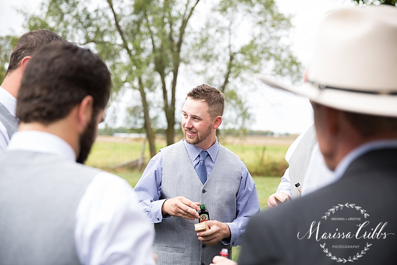 Kansas City Wedding Photographer | Country Wedding | Barn Wedding | Marissa Cribbs Photography_1361.jpg
