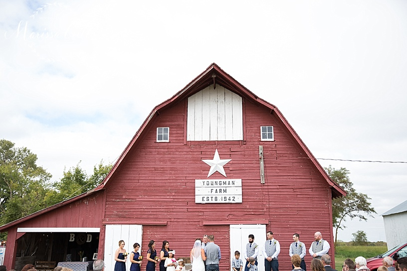 Kansas City Wedding Photographer | Country Wedding | Barn Wedding | Marissa Cribbs Photography_1378.jpg