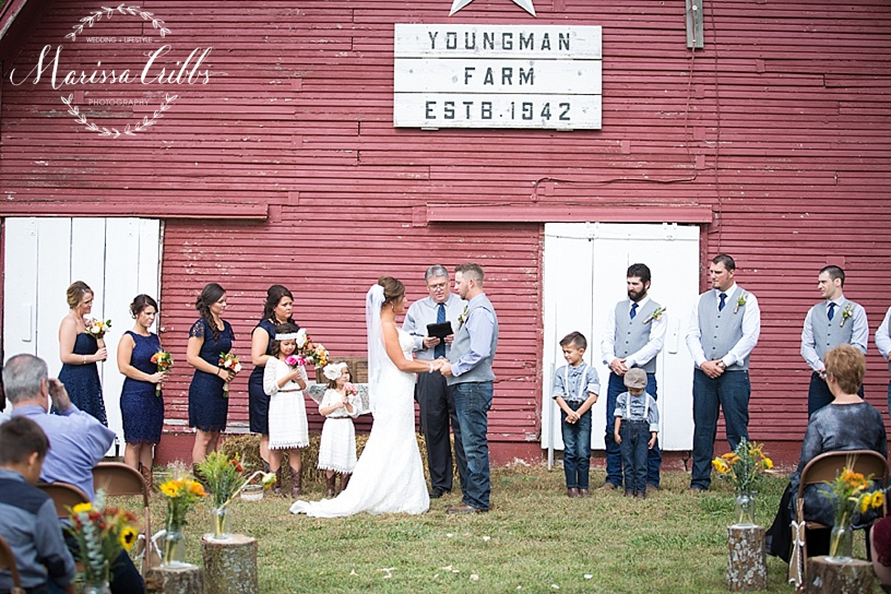 Kansas City Wedding Photographer | Country Wedding | Barn Wedding | Marissa Cribbs Photography_1380.jpg