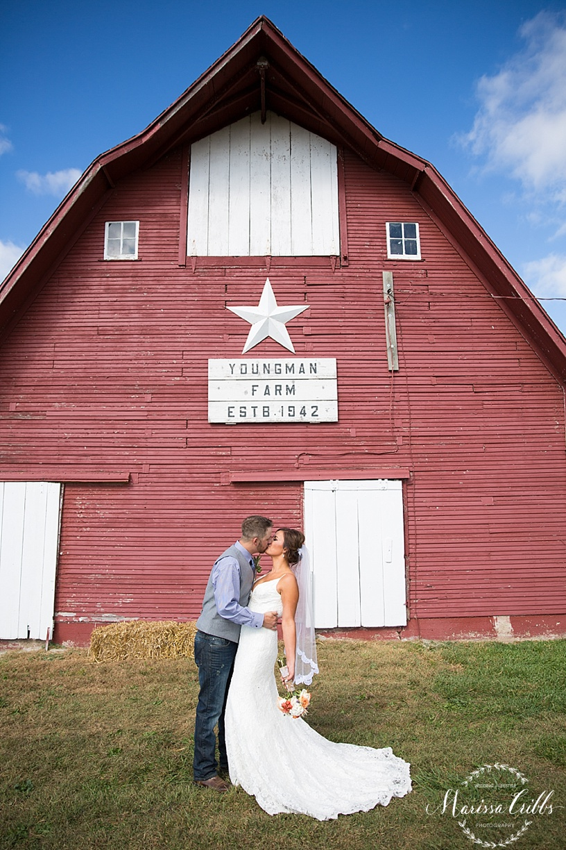 Kansas City Wedding Photographer | Country Wedding | Barn Wedding | Marissa Cribbs Photography_1400.jpg