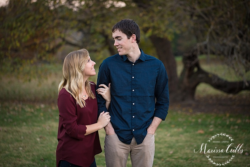 KC Engagement Photography | Kansas City Engagement Photographer | Engagement Photos | Loose Park KC MO| Marissa Cribbs Photography_2066.jpg