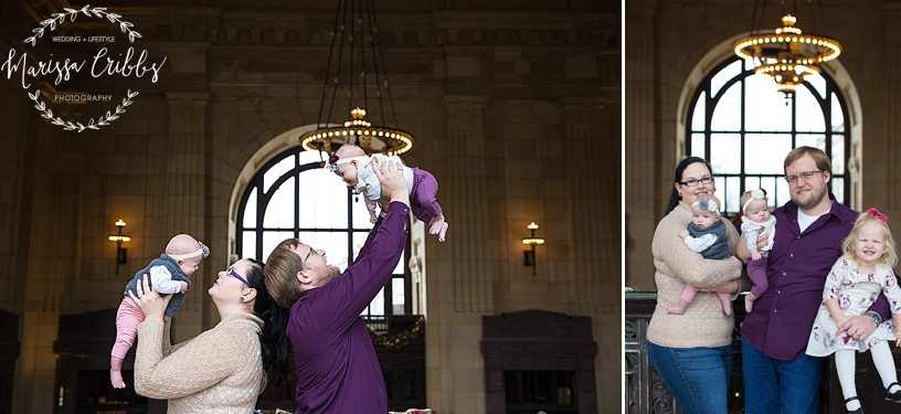 Rodgers Twins 3 Months | Union Station | KC Baby Photographer | KC Family Photographer | Marissa Cribbs Photography_2210.jpg