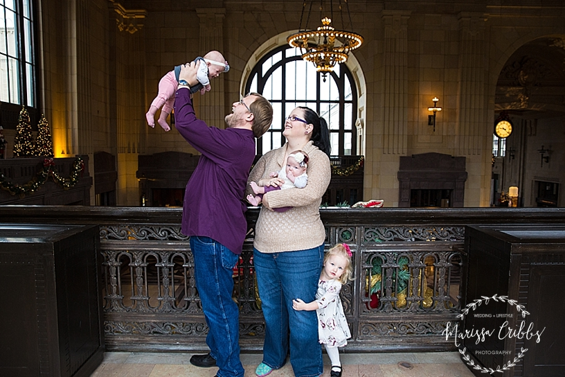 Rodgers Twins 3 Months | Union Station | KC Baby Photographer | KC Family Photographer | Marissa Cribbs Photography_2213.jpg