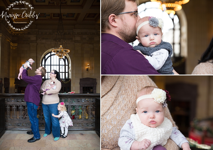 Rodgers Twins 3 Months | Union Station | KC Baby Photographer | KC Family Photographer | Marissa Cribbs Photography_2214.jpg