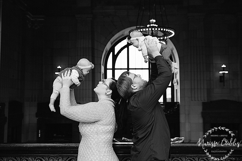 Rodgers Twins 3 Months | Union Station | KC Baby Photographer | KC Family Photographer | Marissa Cribbs Photography_2221.jpg