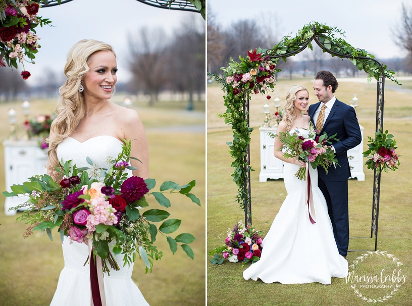 St. Andrew's Golf Club Weddings | Kansas City Golf Course Wedding | Marissa Cribbs Photography | Good Earth Floral Design_2545.jpg