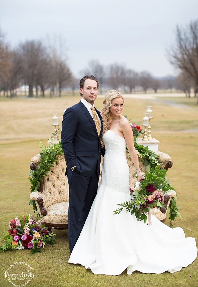 St. Andrew's Golf Club Weddings | Kansas City Golf Course Wedding | Marissa Cribbs Photography | Good Earth Floral Design_2556.jpg