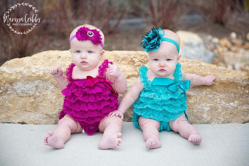 Twins Six Month Photos | Marissa Cribbs Photography | Museum at Prairie Fire_2591.jpg