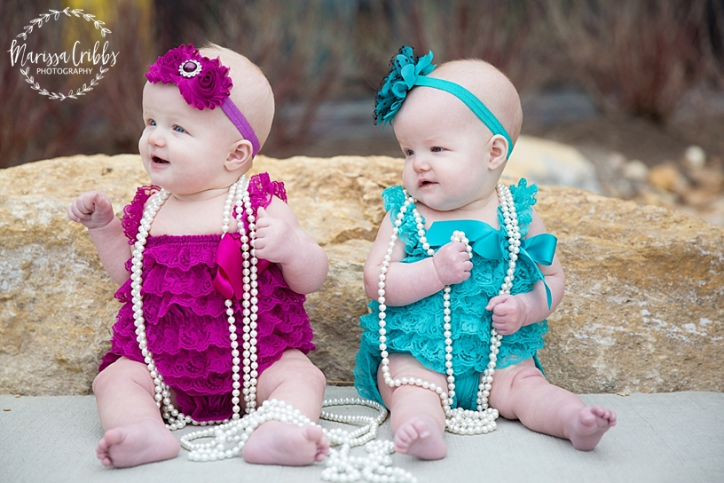 Twins Six Month Photos | Marissa Cribbs Photography | Museum at Prairie Fire_2593.jpg