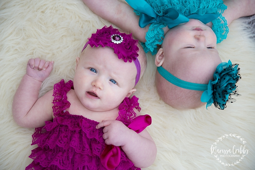 Twins Six Month Photos | Marissa Cribbs Photography | Museum at Prairie Fire_2597.jpg
