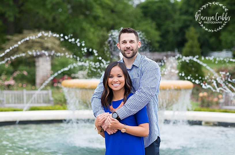 Thuy and Jeff | Loose Park and West Bottoms KC Engagement Pictures | Marissa Cribbs Photography_3875.jpg