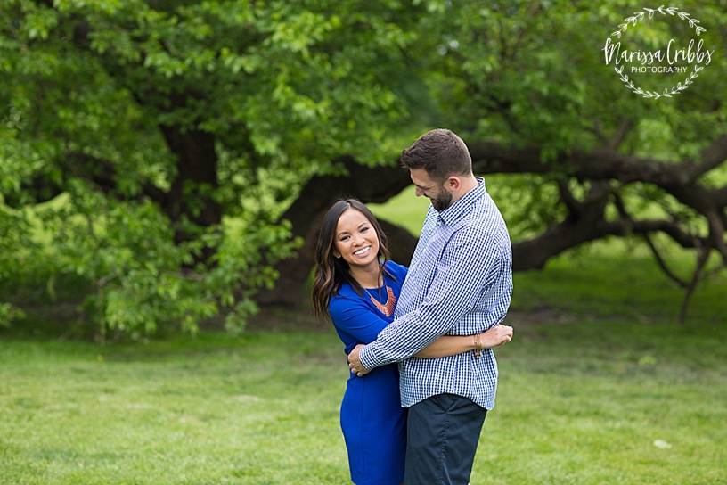 Thuy and Jeff | Loose Park and West Bottoms KC Engagement Pictures | Marissa Cribbs Photography_3877.jpg