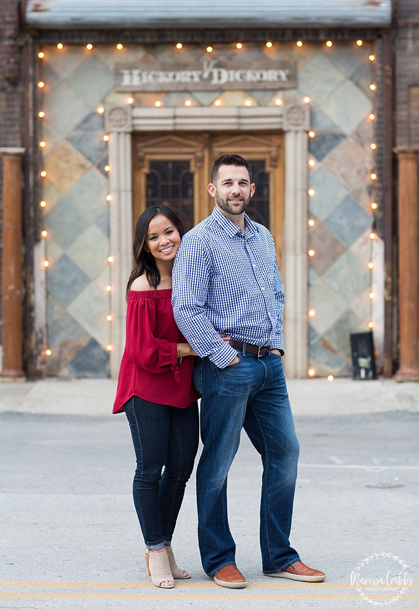 Thuy and Jeff | Loose Park and West Bottoms KC Engagement Pictures | Marissa Cribbs Photography_3885.jpg