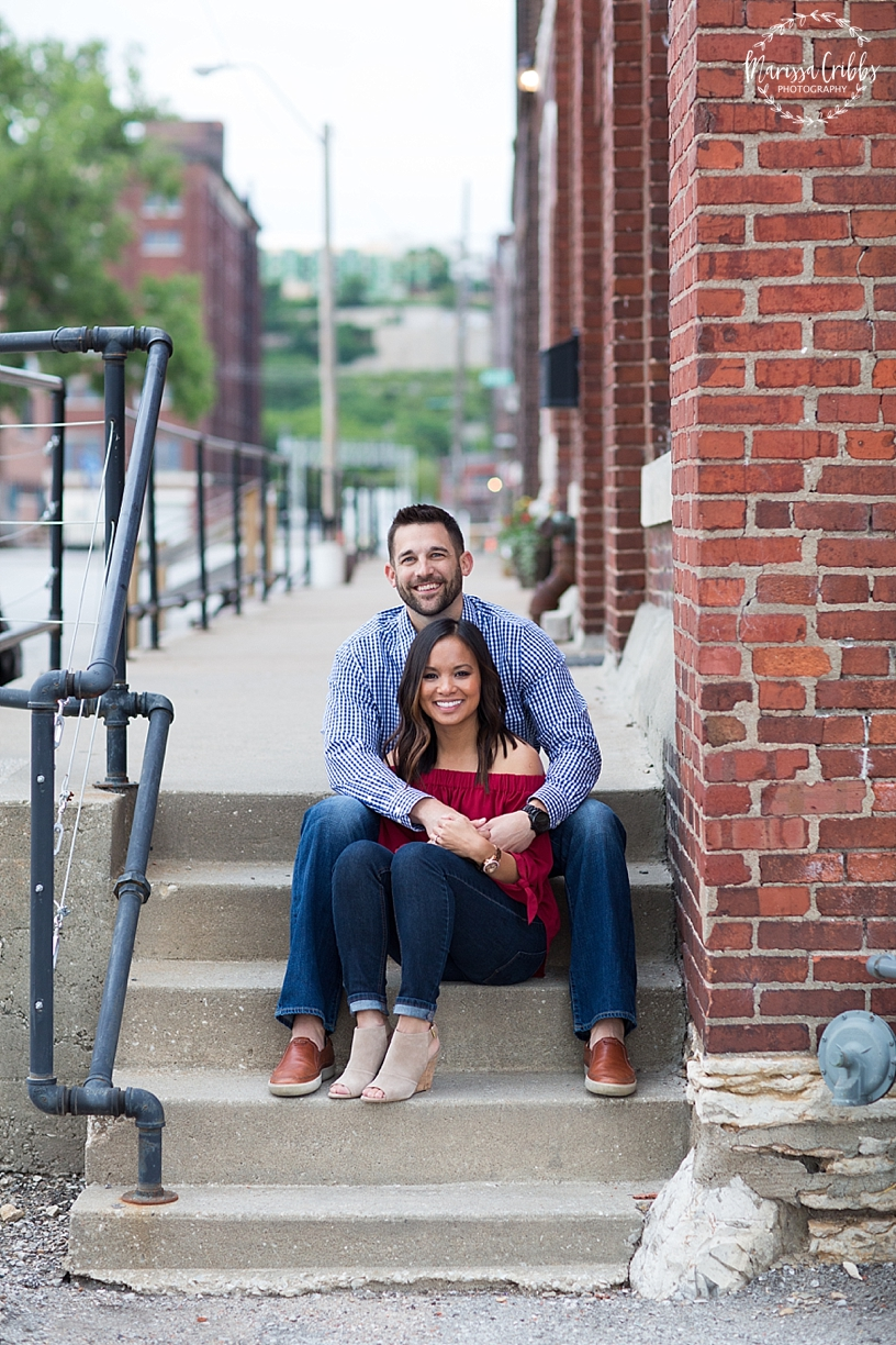 Thuy and Jeff | Loose Park and West Bottoms KC Engagement Pictures | Marissa Cribbs Photography_3889.jpg