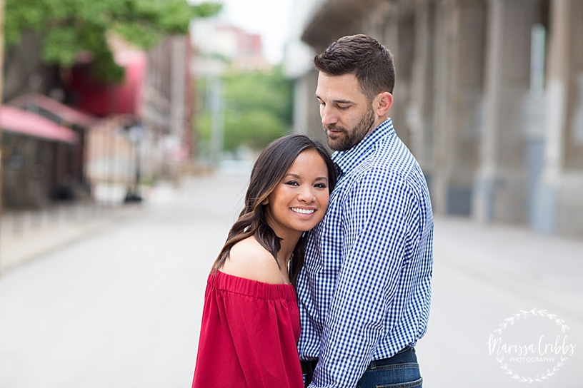 Thuy and Jeff | Loose Park and West Bottoms KC Engagement Pictures | Marissa Cribbs Photography_3891.jpg