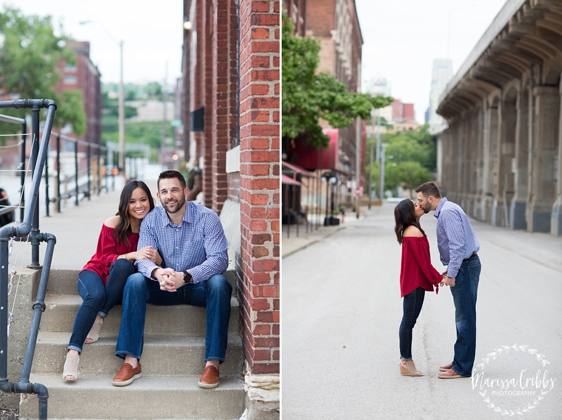 Thuy and Jeff | Loose Park and West Bottoms KC Engagement Pictures | Marissa Cribbs Photography_3890.jpg