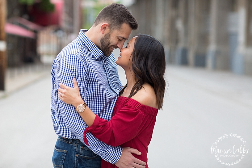 Thuy and Jeff | Loose Park and West Bottoms KC Engagement Pictures | Marissa Cribbs Photography_3892.jpg
