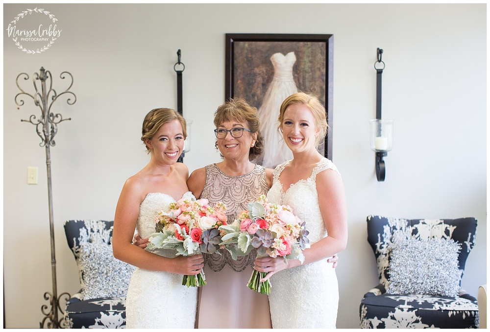 Twin Double Wedding | Union Horse Distilling Co. | Marissa Cribbs Photography | KC Weddings_0033.jpg