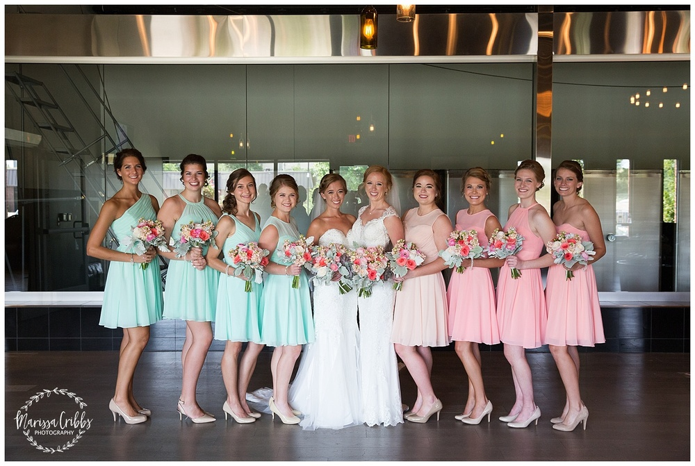 Twin Double Wedding | Union Horse Distilling Co. | Marissa Cribbs Photography | KC Weddings_0079.jpg