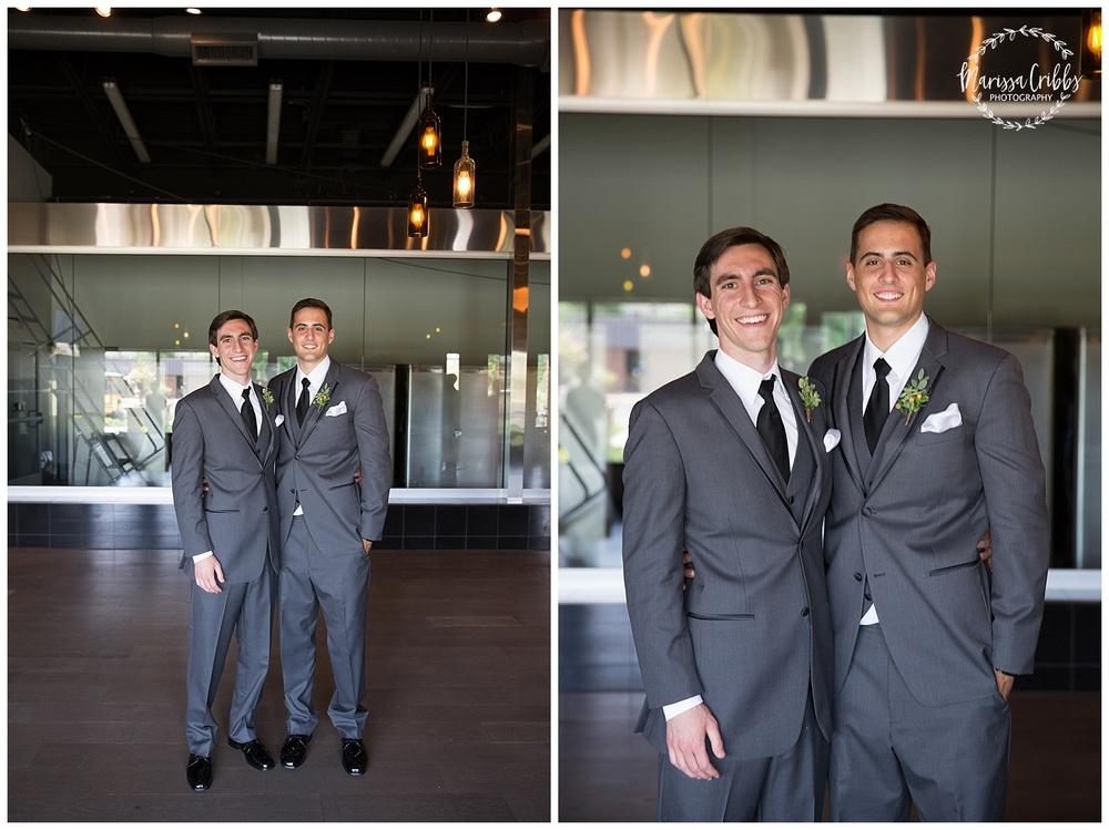 Twin Double Wedding | Union Horse Distilling Co. | Marissa Cribbs Photography | KC Weddings_0088.jpg