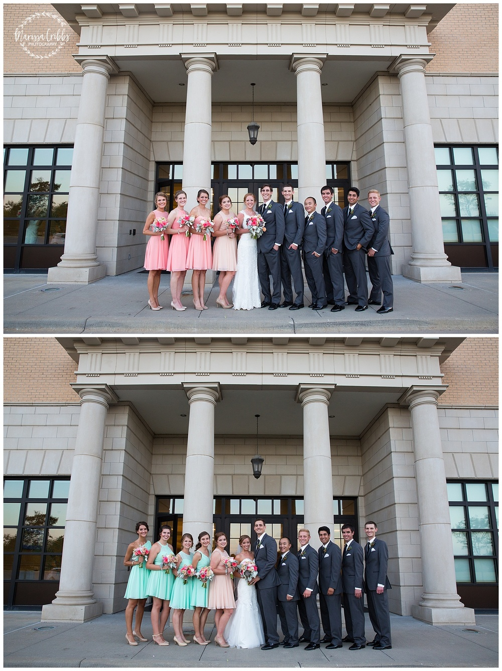 Twin Double Wedding | Union Horse Distilling Co. | Marissa Cribbs Photography | KC Weddings_0161.jpg