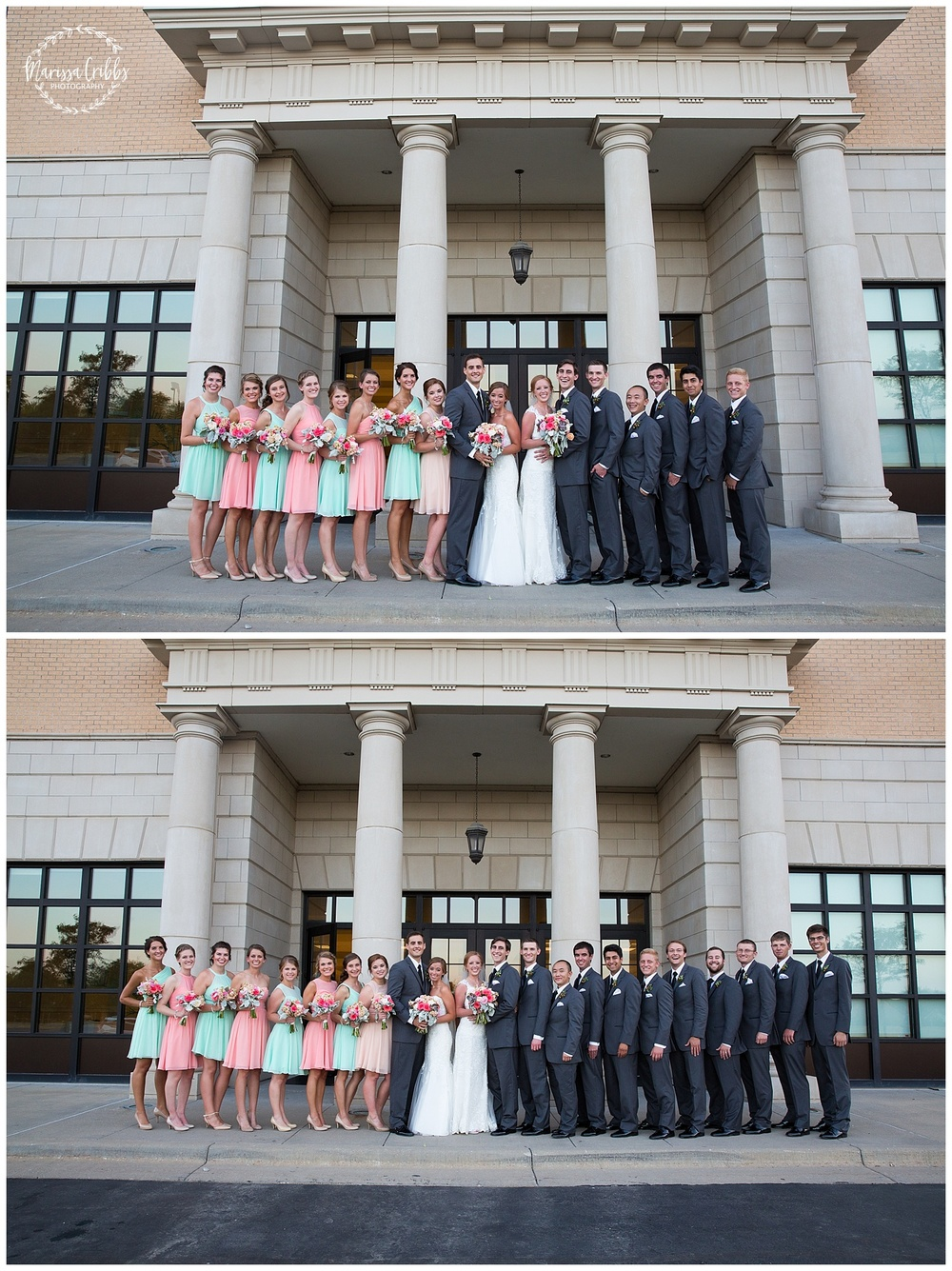 Twin Double Wedding | Union Horse Distilling Co. | Marissa Cribbs Photography | KC Weddings_0162.jpg