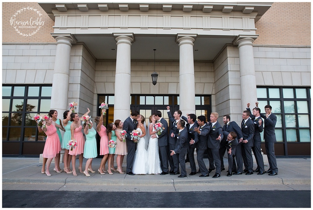 Twin Double Wedding | Union Horse Distilling Co. | Marissa Cribbs Photography | KC Weddings_0163.jpg