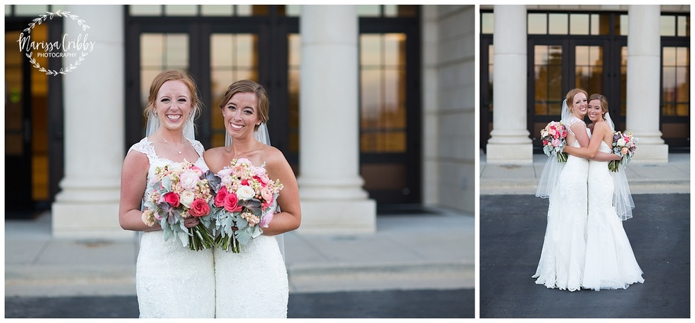 Twin Double Wedding | Union Horse Distilling Co. | Marissa Cribbs Photography | KC Weddings_0166.jpg