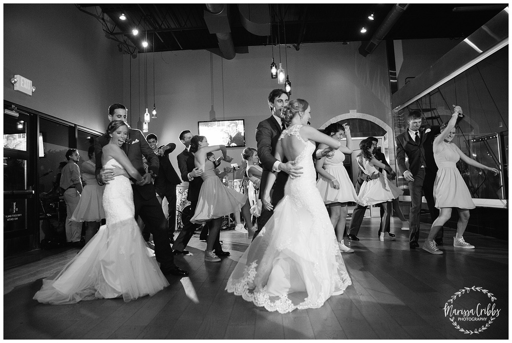 Twin Double Wedding | Union Horse Distilling Co. | Marissa Cribbs Photography | KC Weddings_0183.jpg