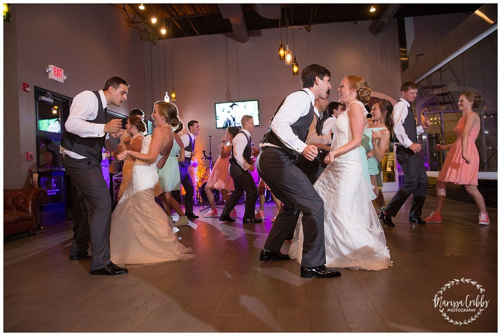 Twin Double Wedding | Union Horse Distilling Co. | Marissa Cribbs Photography | KC Weddings_0188.jpg