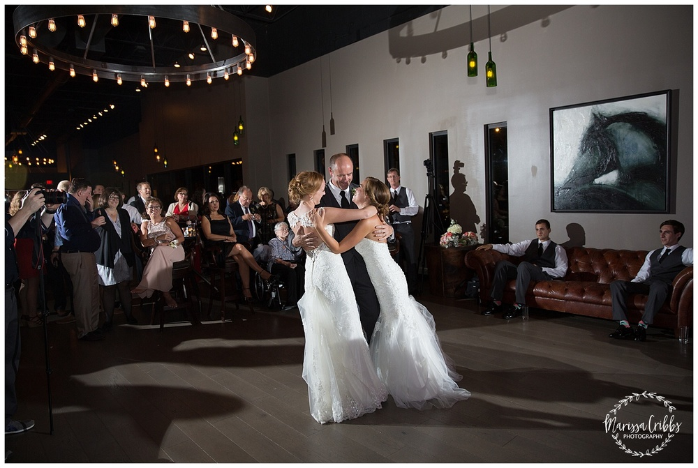 Twin Double Wedding | Union Horse Distilling Co. | Marissa Cribbs Photography | KC Weddings_0213.jpg