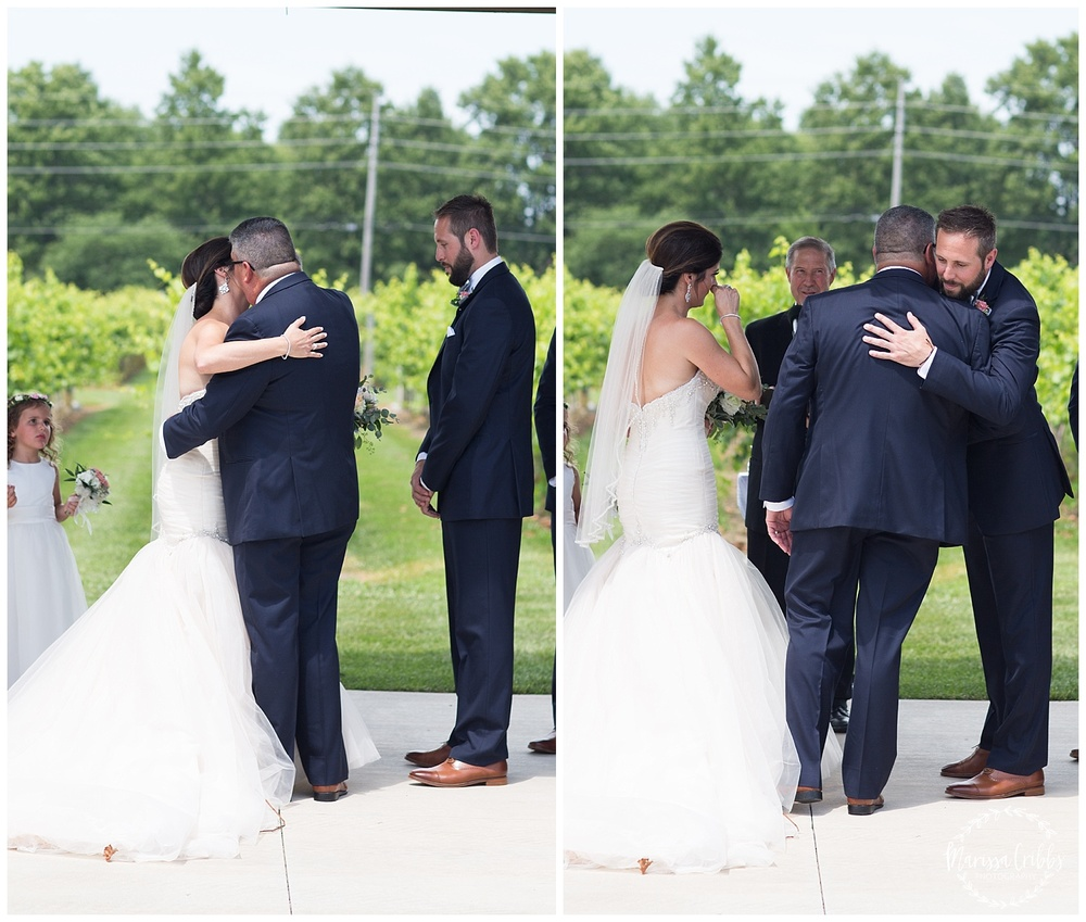 Stonehaus Winery Wedding | KC Wedding Photographer | Marissa Cribbs Photography | The Pavilion Event Space_0338.jpg