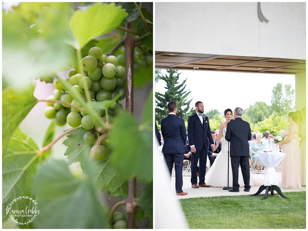 Stonehaus Winery Wedding | KC Wedding Photographer | Marissa Cribbs Photography | The Pavilion Event Space_0340.jpg