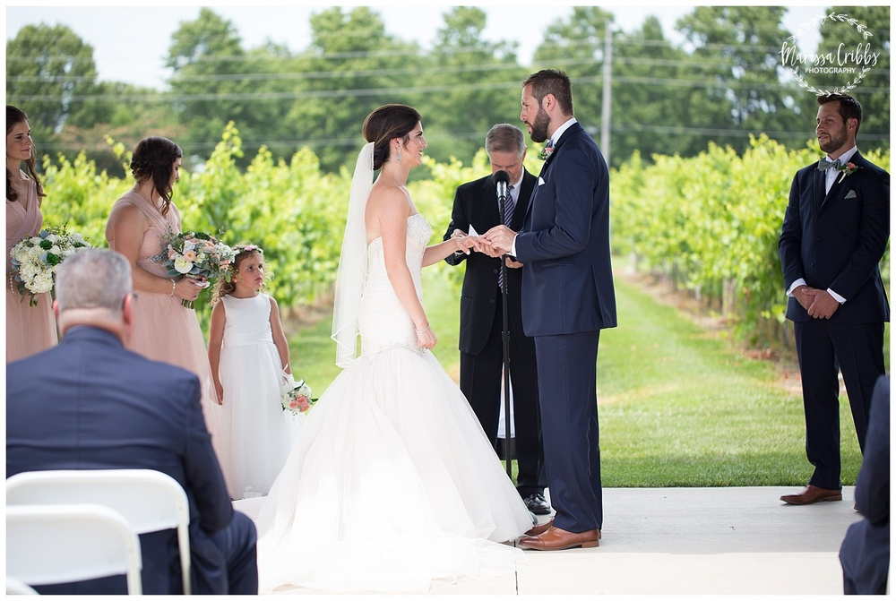 Stonehaus Winery Wedding | KC Wedding Photographer | Marissa Cribbs Photography | The Pavilion Event Space_0347.jpg