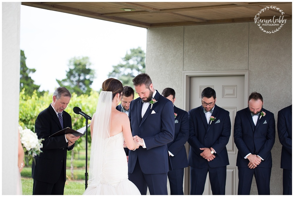 Stonehaus Winery Wedding | KC Wedding Photographer | Marissa Cribbs Photography | The Pavilion Event Space_0351.jpg