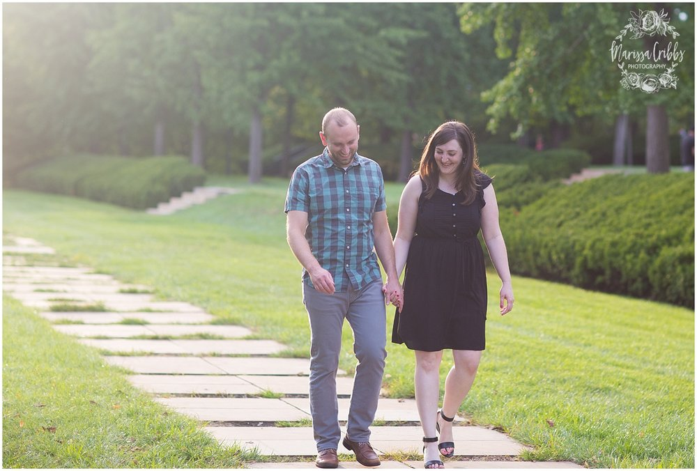 Josh & Micalla Engagement | The Nelson Atkins Museum | Marissa Cribbs Photography_0473.jpg