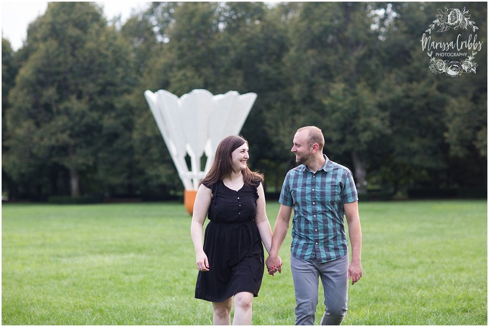 Josh & Micalla Engagement | The Nelson Atkins Museum | Marissa Cribbs Photography_0480.jpg