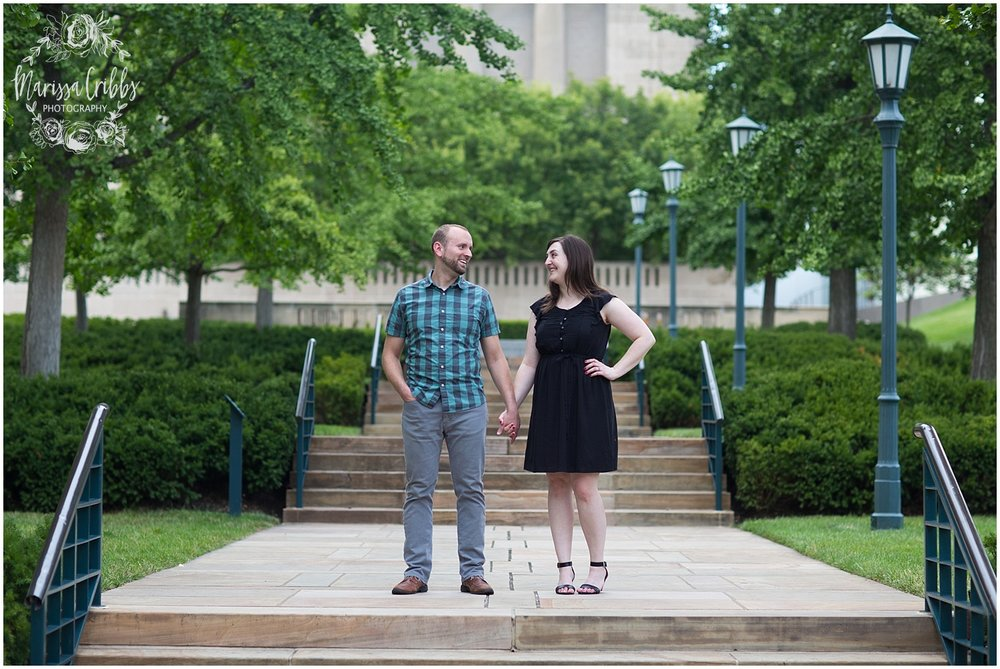 Josh & Micalla Engagement | The Nelson Atkins Museum | Marissa Cribbs Photography_0481.jpg