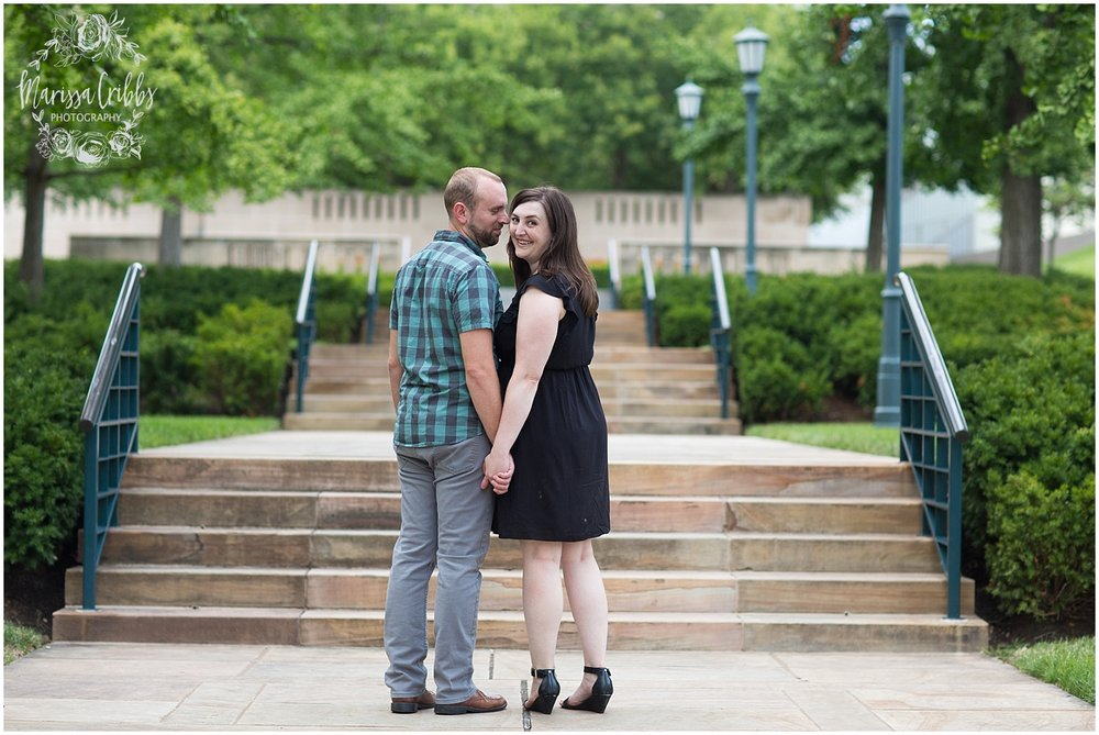 Josh & Micalla Engagement | The Nelson Atkins Museum | Marissa Cribbs Photography_0482.jpg