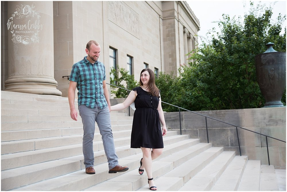 Josh & Micalla Engagement | The Nelson Atkins Museum | Marissa Cribbs Photography_0487.jpg