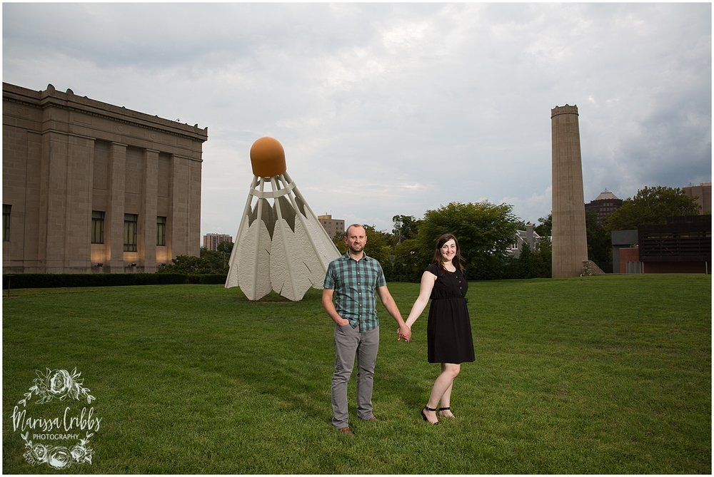 Josh & Micalla Engagement | The Nelson Atkins Museum | Marissa Cribbs Photography_0488.jpg