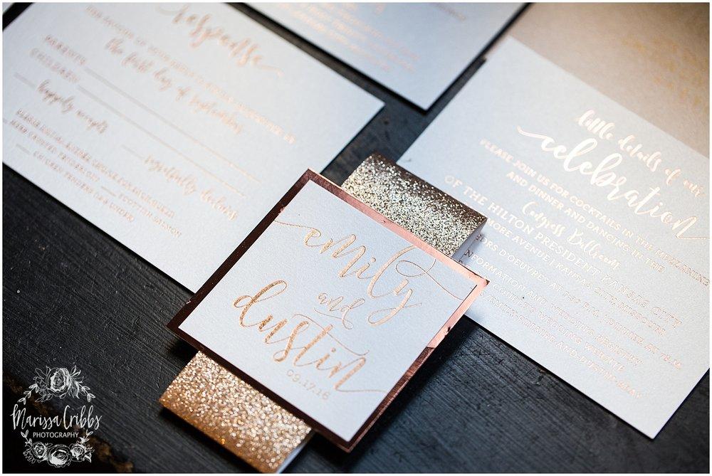 The President Hilton Wedding | KC Wedding Photographers | Emily & Dustin | Marissa Cribbs Photography_0635.jpg
