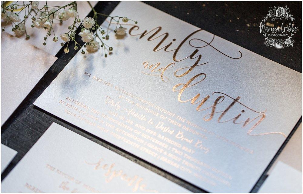 The President Hilton Wedding | KC Wedding Photographers | Emily & Dustin | Marissa Cribbs Photography_0636.jpg