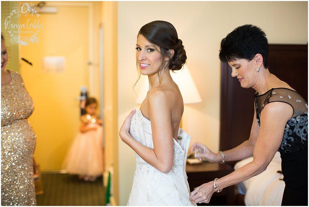The President Hilton Wedding | KC Wedding Photographers | Emily & Dustin | Marissa Cribbs Photography_0651.jpg