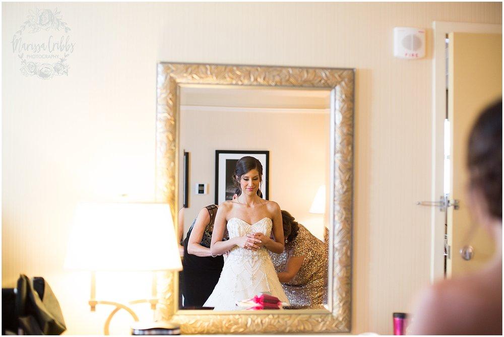 The President Hilton Wedding | KC Wedding Photographers | Emily & Dustin | Marissa Cribbs Photography_0653.jpg