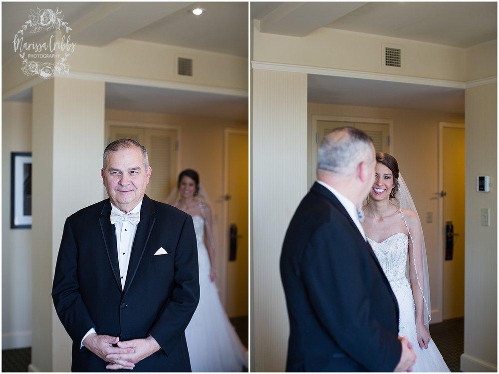 The President Hilton Wedding | KC Wedding Photographers | Emily & Dustin | Marissa Cribbs Photography_0658.jpg