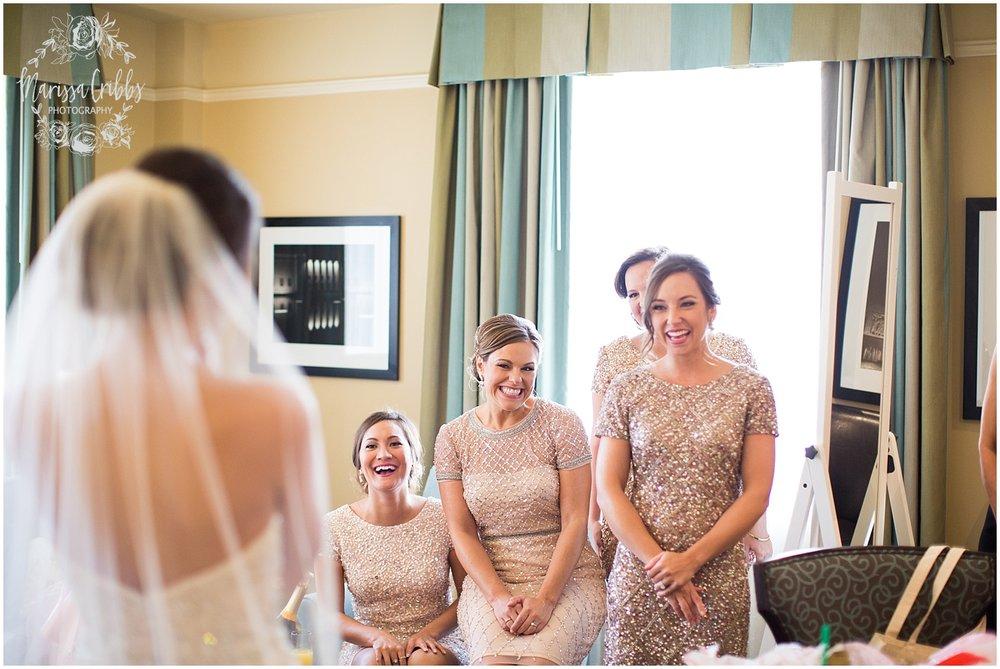 The President Hilton Wedding | KC Wedding Photographers | Emily & Dustin | Marissa Cribbs Photography_0657.jpg