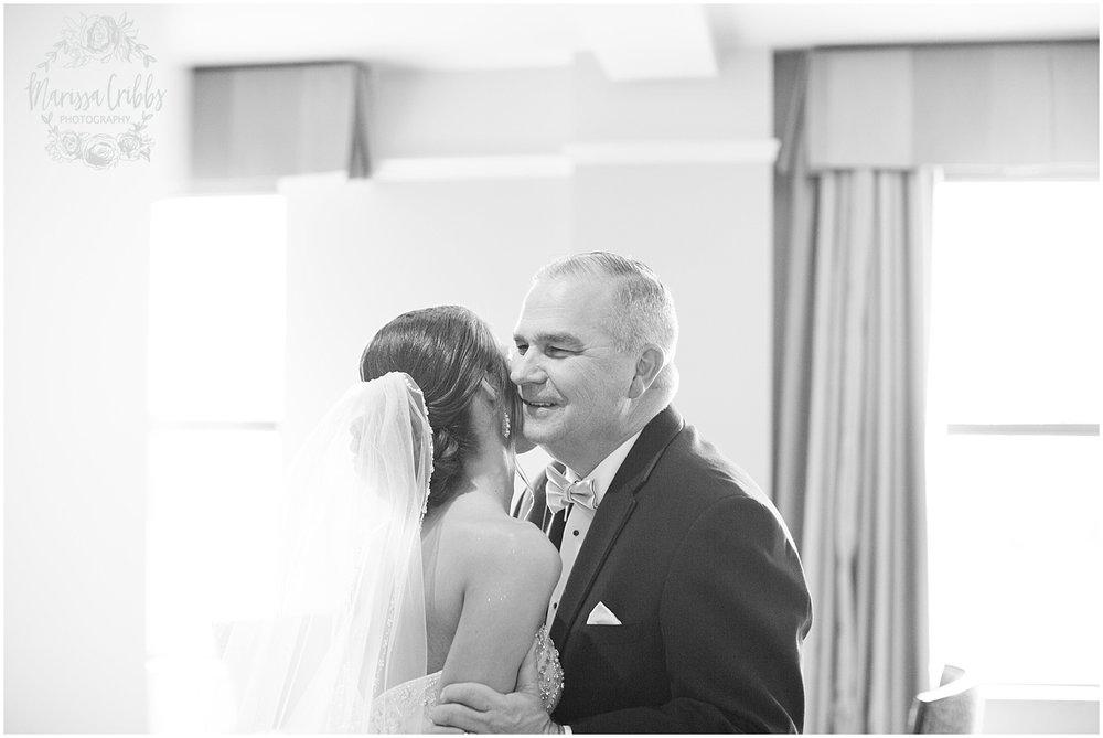 The President Hilton Wedding | KC Wedding Photographers | Emily & Dustin | Marissa Cribbs Photography_0660.jpg