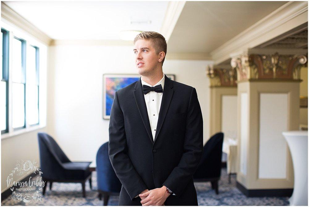 The President Hilton Wedding | KC Wedding Photographers | Emily & Dustin | Marissa Cribbs Photography_0662.jpg